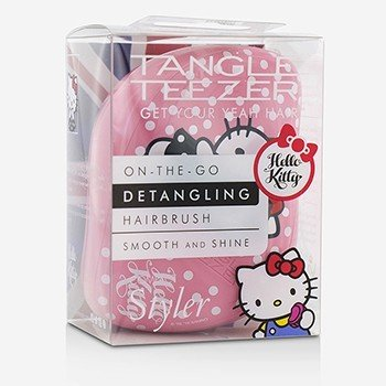タングルティーザー Compact Styler On-The-Go Detangling Hair Brush - # Hello Kitty Pink  1pc