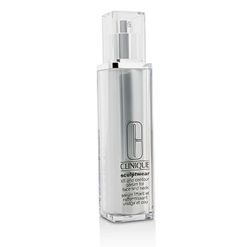 Clinique Serum do twarzy i szyi na noc Sculptwear Lift & Contour Serum For Face & Neck  100ml/3.4oz