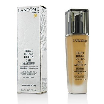 Lancome Teint Idole Ultra Base 24H de Uso & Confort SPF 15 - # 380 Bisque W (Versión US)  30ml/1oz