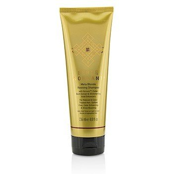 Serge Normant Meta Blonde Reviving Shampoo (For Natural & Color Treated Hair, Sulfate Free, Color Enhancing & Shine Boosting)  236ml/8oz