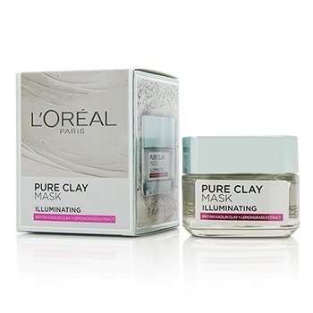 L'Oreal ماسك مضيء للوجه Pure Clay  50g/1.7oz