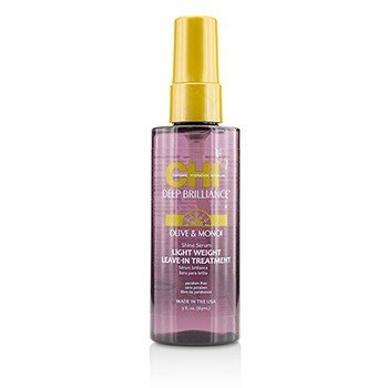 橄欖和莫諾伊油免洗護髮素 Deep Brilliance Olive & Monoi Shine Serum Light Weight Leave-In Treatment  89ml/3oz