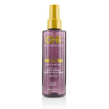 橄欖和莫諾伊油免洗護髮素 Deep Brilliance Olive & Monoi Shine Serum Light Weight Leave-In Treatment  178ml/6oz
