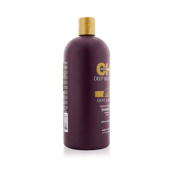 Deep Brilliance Olive & Monoi Optimum Moisture Shampoo 946ml/32oz