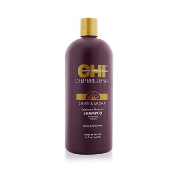 CHI Deep Brilliance Olive & Monoi Optimum Champú Hidratante  946ml/32oz