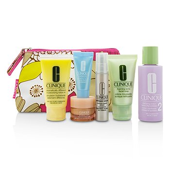 Travel Set: Facial Soap 30ml+Lotion 2 60ml+DDML 30ml+Smart Serum 10ml+Turnaround Serum 7ml+All About Eyes 7ml+Bag  6pcs+1bag