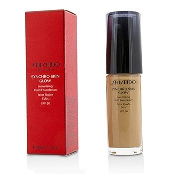 Shiseido Synchro Skin Glow Luminizing Fluid Foundation SPF 20 - # Rose 5  30ml/1oz