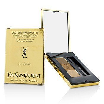 圣罗兰  Couture Brow Palette - #1 Light To Medium  3.8g/0.13oz