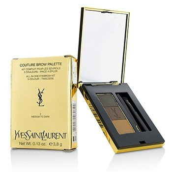 Yves Saint Laurent Couture Paleta de Cejas - #2 Medium To Dark  3.8g/0.13oz