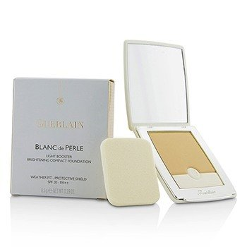 Guerlain Blanc De Perle Light Booster Brightening Compact Foundation SPF 20 - # 02 Beige Clair  8.5g/0.29oz