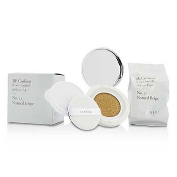 Laneige BB Cushion Foundation (Pore Control) SPF 50 With Extra Refill - # 21 Natural Beige  2x15g/0.5oz