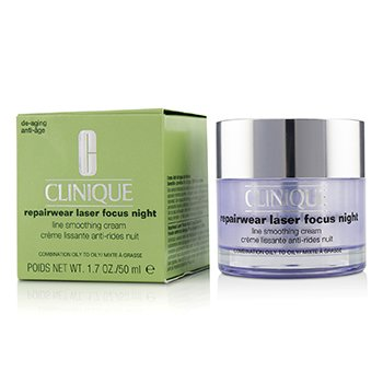 Repairwear Laser Focus Night Line Smoothing Cream - Combination Oily To Oily 50ml/1.7oz
