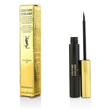 Yves Saint Laurent Couture Liquid  Eyeliner - # 1 Noir Minimal Mat  2.95ml/0.09oz