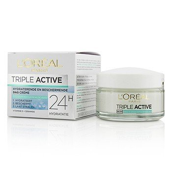 Triple Active Crema de Día Multi-Protectora 24H de Hidratación - Para Piel Normal/Mixta  50ml/1.7oz