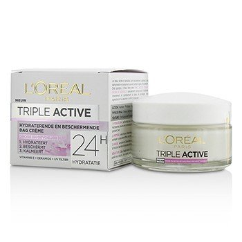 Triple Active Multi-Protective Day Cream 24H Hydration - For Dry/ Sensitive Skin  50ml/1.7oz