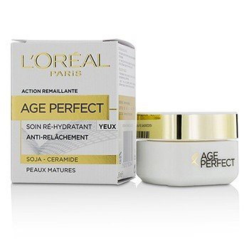 L'Oreal Age Perfect Crema de Ojos Re-Hidratante - Para Piel Madura  15ml/0.5oz