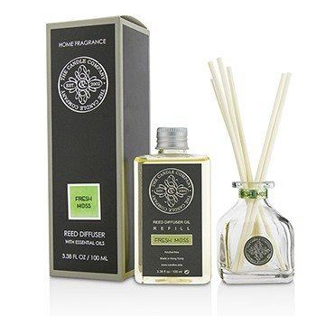 The Candle Company Reed Diffuser with Essential Oils - Fresh Moss  100ml/3.38oz