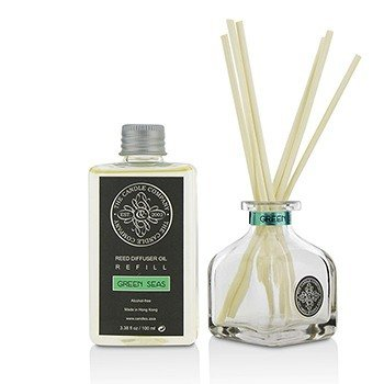 Reed Diffuser with Essential Oils - Green Seas  100ml/3.38oz