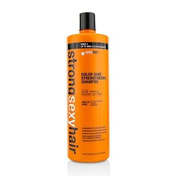 強力性感護髮 強化滋養防斷洗髮露Strong Sexy Hair Strengthening Nourishing Anti-Breakage Shampoo  1000ml/33.8oz