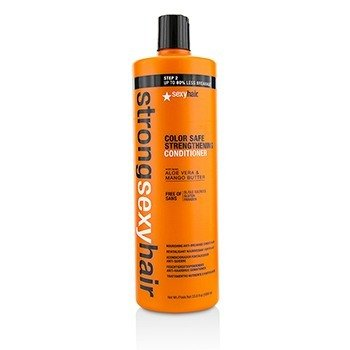 Sexy Hair Concepts Strong Sexy Hair Acondicionador Fortalecedor Nutritivo Anti-Rotura  1000ml/33.8oz