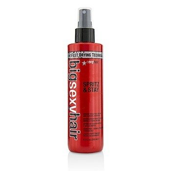 Big Sexy Hair Spritz & Stay Intense Hold, Fast Drying, Non-Aerosol Hairspray 250ml/8.5oz