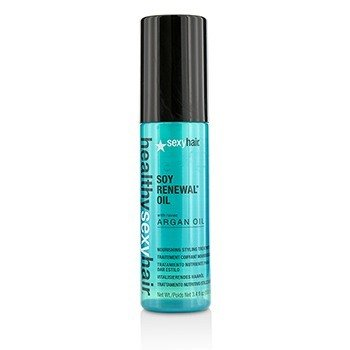 Sexy Hair Concepts Healthy Sexy Hair Soy Renewal Oil Nourishing Styling Treatment  100ml/3.4oz