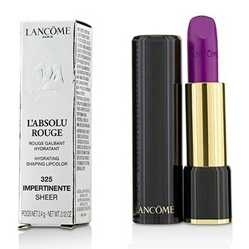 Lancôme L' Absolu Rouge Hydrating Shaping Lipcolor - # 325 Impertinente (Sheer)  3.4g/0.12oz