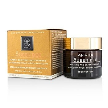 Apivita Queen Bee Holistic Age Defense Cream Rich Texture  50ml/1.73oz