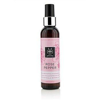 Apivita Rose Pepper Aceite de Masaje Moldeador  150ml/5.07oz