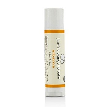Erbaviva Jasmine Orange Lip Balm  0.18oz