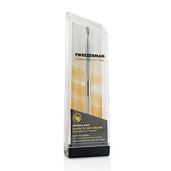 Stainless Steel Pushy & Nail Cleaner (Studio Collection)  -