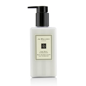 Lime Basil & Mandarin Body & Hand Lotion  250ml/8.5oz
