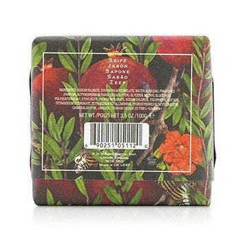 Pomegranate Noir Bath Soap  100g/3.5oz