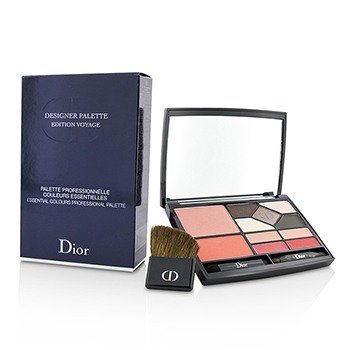 Christian Dior Designer Palette Edition Voyage (2x Blush, 5x Eyeshadow, 4x Lip Color, 3x Applicator)  18.2g/0.59oz
