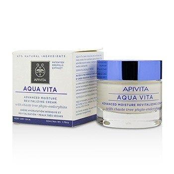 Apivita Aqua Vita Crema Revitalizante de Humedad Avanzado - Para Piel Muy Seca  50ml/1.76oz