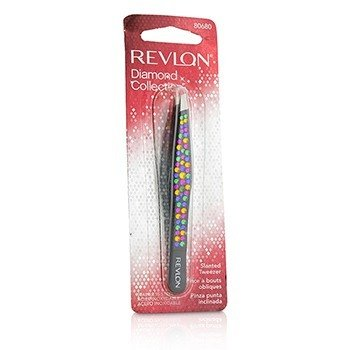 Revlon Pinza Inclinada (Colección Diamante) - Black (Multi Color Rhinestones)