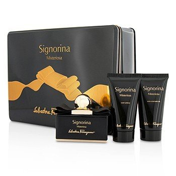 Signorina Misteriosa Coffret: Eau De Parfum Spray 50ml/1.7oz + Body Lotion 50ml/1.7oz + Bath & Shower Gel 50ml/1.7oz  3pcs