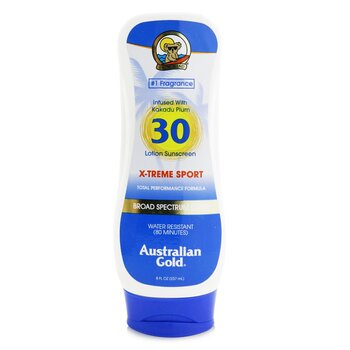 Australian Gold X-Treme Sport Lotion SPF 30  237ml/8oz