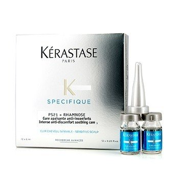 Kerastase Specifique PS21 + Rhamnose Intense Anti-Discomfort Soothing Care (Sensitive Scalp)  12x6ml/0.2oz