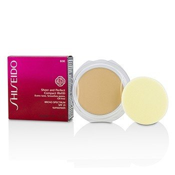 Shiseido Sheer & Perfect Compact Foundation SPF 21 (Refill) - # B00 Very Light Beige  10g/0.35oz