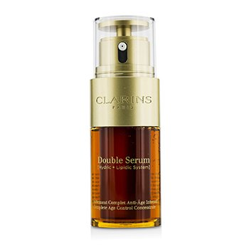 קלרינס Double Serum (Hydric + Lipidic System) Complete Age Control Concentrate  30ml/1oz