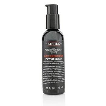 Age Defender Power Serum Strengthening, Visibly Firming, Anti-Wrinkle Treatment For Men  75ml/2.5oz