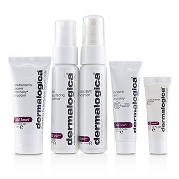 Age Smart Skin Kit (1x Cleanser, 1x HydraMist, 1x Recovery Masque, 1x Skin Recovery SPF 50, 1x Power Firm)  5pcs