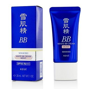 Sekkisei White BB Cream Moist SPF40 PA+++ - # 01 Light Ochre  28ml/1oz