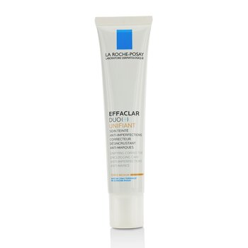 La Roche Posay Effaclar Duo (+) Unifiant Unifying Corrective Unclogging Care Anti-Imperfections Anti-Marks - Medium  40ml/1.35oz