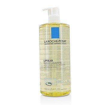 La Roche Posay Lipikar Huile Lavante Lipid-Replenishing Cleansing Oil  750ml/25.4oz