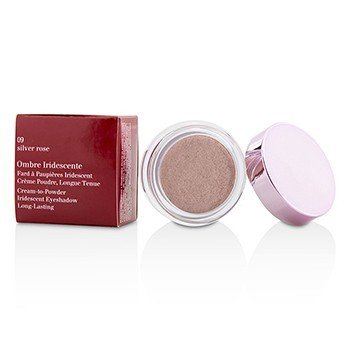 Clarins Ombre Iridescente Cream To Powder Iridescent Eyeshadow - #09 Silver Rose  7g/0.2oz