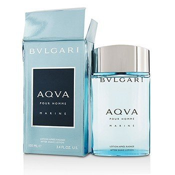 Bvlgari Aqva Pour Homme Marine After Shave Lotion (Box Slightly Damaged)  100ml/3.4oz