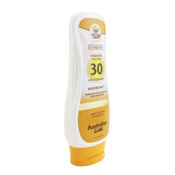 Lotion Sunscreen Moisture Max Broad Spectrum SPF 30  237ml/8oz