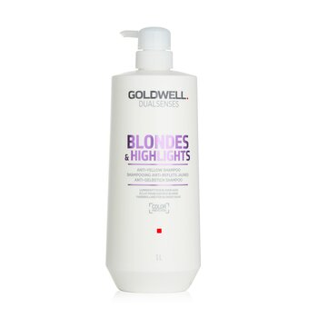 Dual Senses Blondes & Highlights Anti-Yellow Shampoo (Luminosity For Blonde Hair)  1000ml/33.8oz